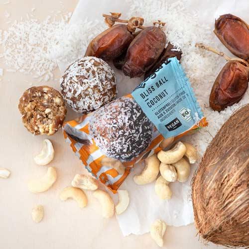 veganz bliss ball køb online - veganske snacks