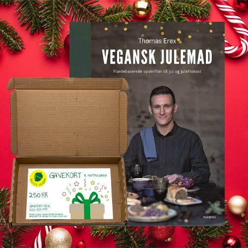 julegave til veganer - vegansk gavekurv til jul