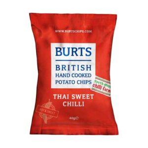 veganske chips køb - burts thai sweet chili