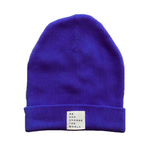 beanie med statement - maae studios - nutty vegan