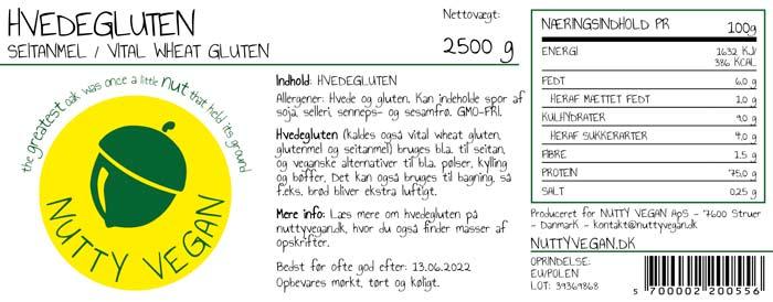 hvedegluten storkøb nutty vegan glutenmel