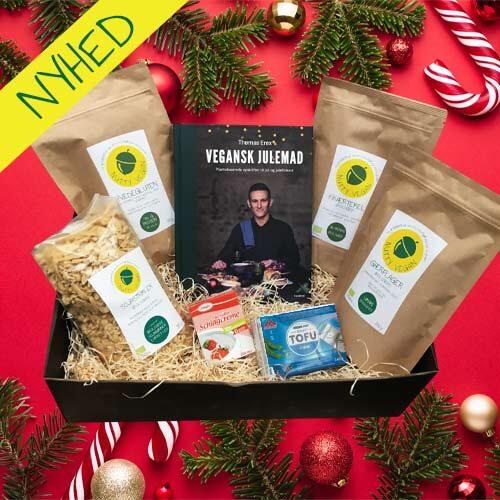 Julegave til veganer - vegansk julekurv - veganske produkter