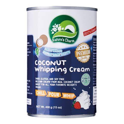 kokosfløde køb kokosflødeskum natures charm coconut whipping cream