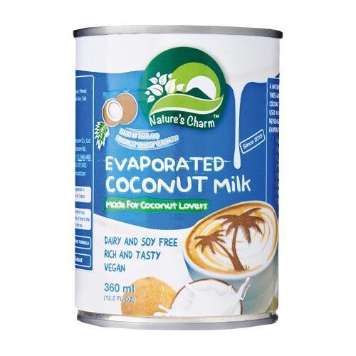 kondenseret kokosmælk køb - natures charm evaporated coconut milk