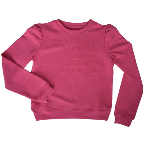 vegansk børnetøj - vegansk sweatshirt