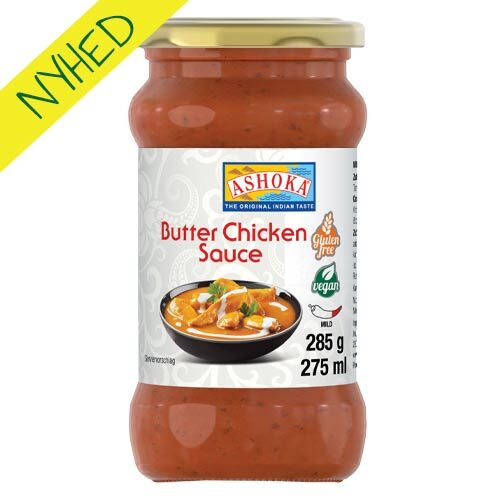 vegansk butter chicken sauce