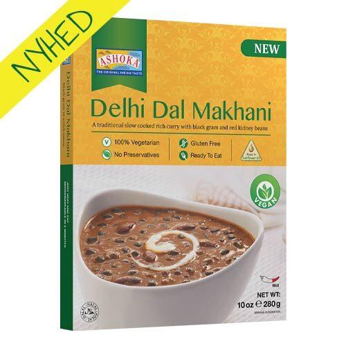 vegansk færdigret - ashoka delhi dal makhana