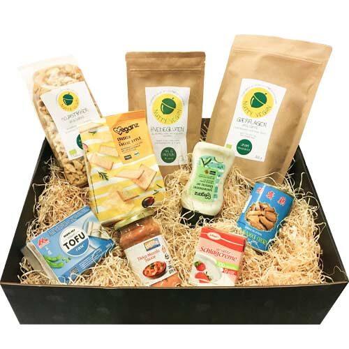 vegansk gavekurv køb - gave til veganer - gavekasse