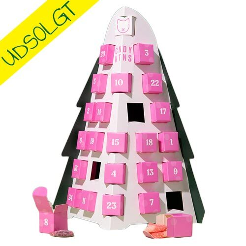 vegansk julekalender - candy kittens kalender - vegansk juleslik