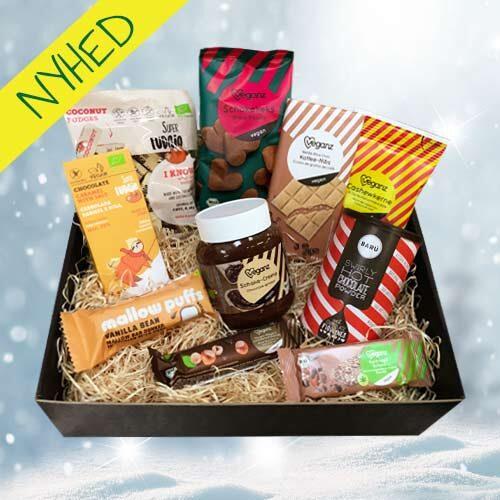 vegansk julekurv køb online - vegansk gavekruv winter wonderland