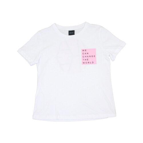 vegansk t-shirt med tryk vegansk tøj