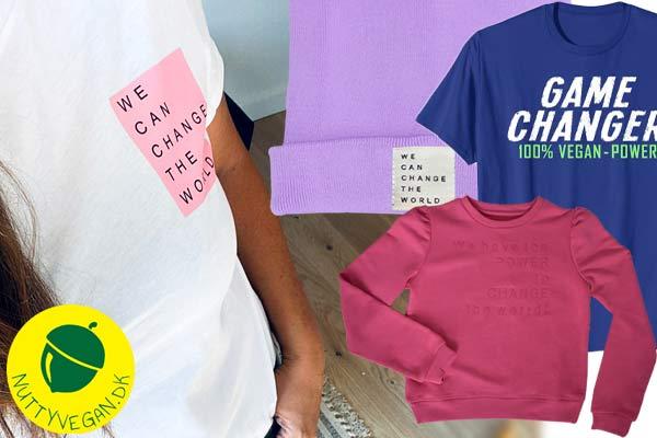 vegansk tøj køb online - gave til veganer