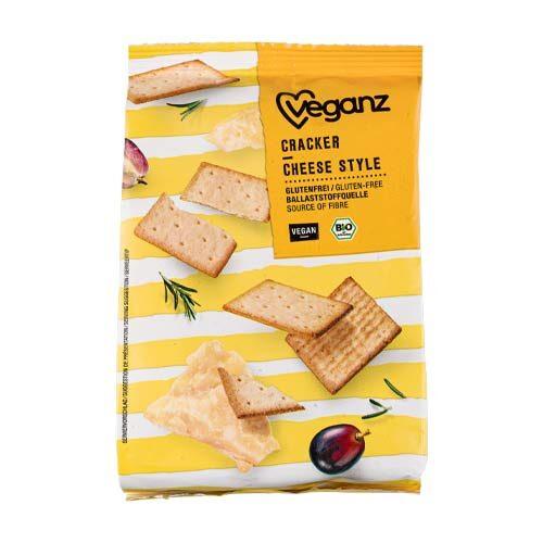veganske ostekiks - køb online - glutenfri ostekiks - veganz crackers