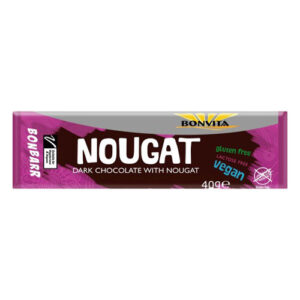 Vegansk chokolade - vegansk nougatbar bonbarr bonvita
