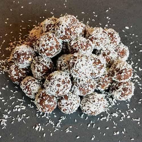 sukkerfri veganske havregrynskugler opskrifter med erythritol - sågger