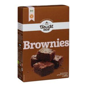 vegansk brownie mix - glutenfri brownie mix fra Bauckhof