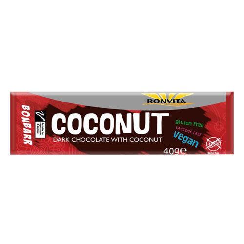 vegansk chokolade-bar bonbarr coconut