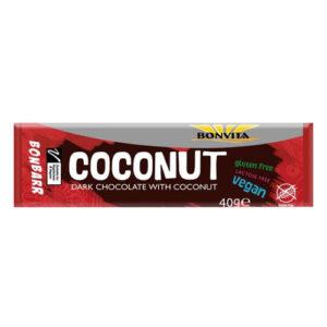 vegansk chokolade med kokos - bonbarr vegan