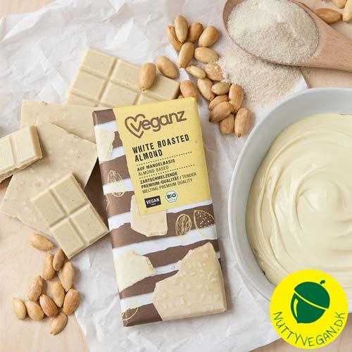 vegansk hvid chokolade - veganz chokolade danmark