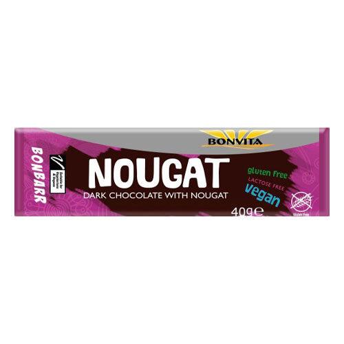 vegansk nougatbar - vegansk fransk nougat - vegansk slik