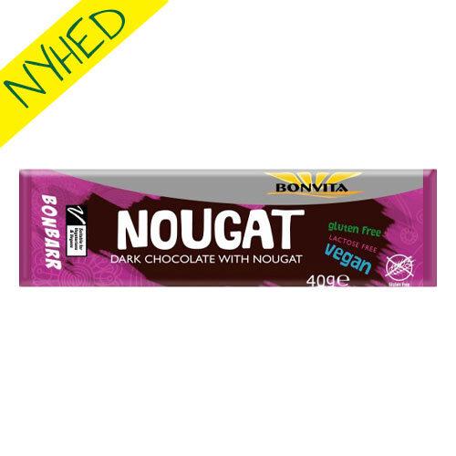 vegansk nougatbar - vegansk juleslik - vegansk chokolade