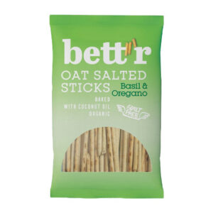 bettr havresticks - veganske snacks - veganske chips