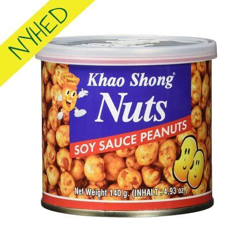 khao song nødder køb - peanuts med soya sauce