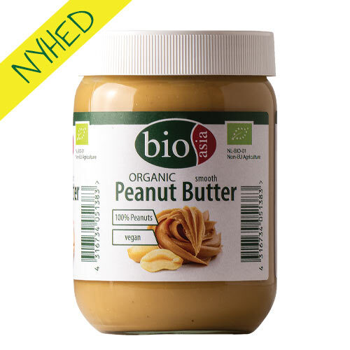 økologisk peanutbutter køb online - 100% peanuts