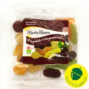 vegansk engelsk vingummi - vegansk slikonline