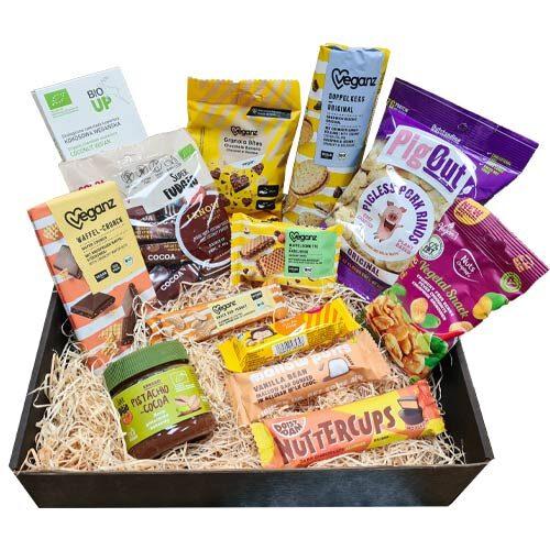 vegansk gavekurv - gave til veganer