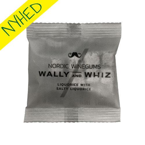 vegansk lakrids - vegansk slik - wally and whiz saltlakrids floepack