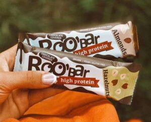 vegansk proteinbar køb - roobar proteinbar