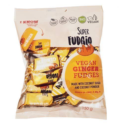 veganske karameller - super fudgio fudges - vegansk slik