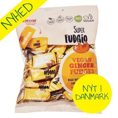 veganske karameller - vegansk slik - super fudgio ginger fudges