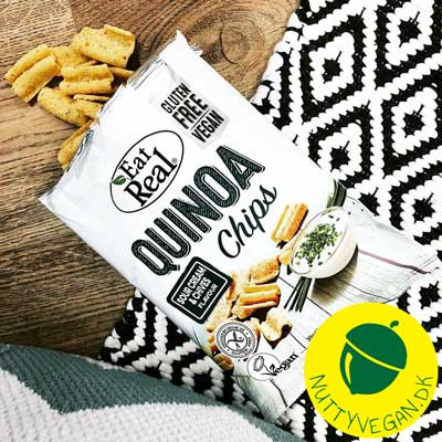 veganske sour cream and onion chips - eat real sour cream and chives køb