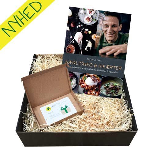 gave til veganer - gavekurv med vegansk kogebog