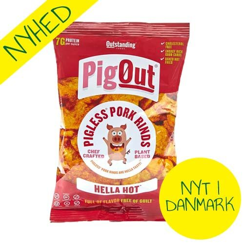 hella hot pigout veganske flæskesvær - veganske snacks