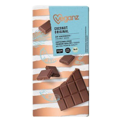 vegansk chokolade - vegansk mælkechokolade veganz-