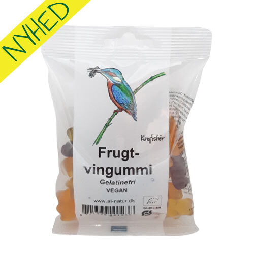 økologisk vegansk vingummi - veganske vingummibamser