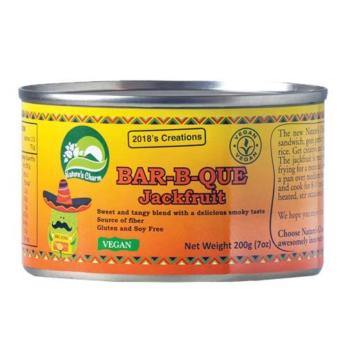 jackfruit køb - vegansk kød - natures charm bbq