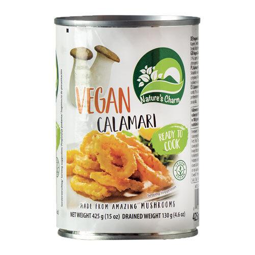 vegansk calamari vegansk blæksprutte - vegansk kød