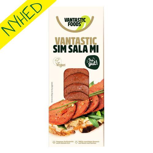 vegansk salami køb - vegansk salami af seitan