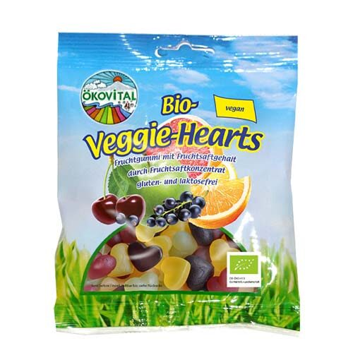 vegansk vingummi hjerter - vegansk slik