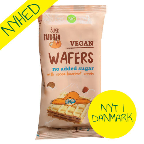 veganske vafler med kakao - uden sukker