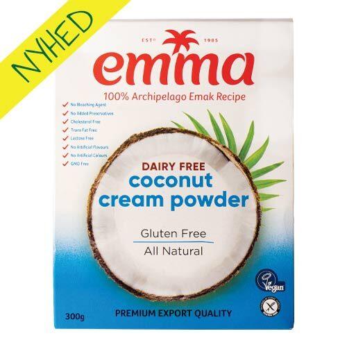 kokosfløde pulver - kokosmælkepulver køb tilbud