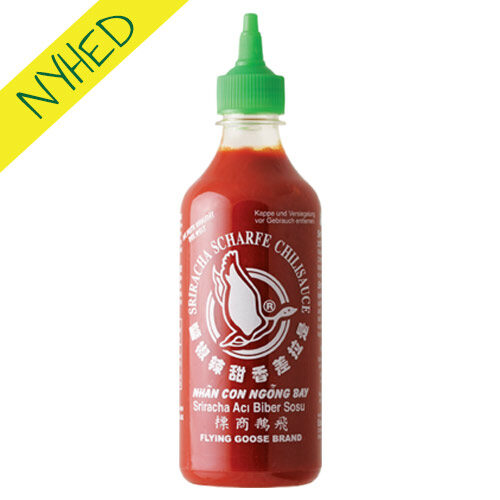 sriracha chilisauce - flying goose hot chilli sauce