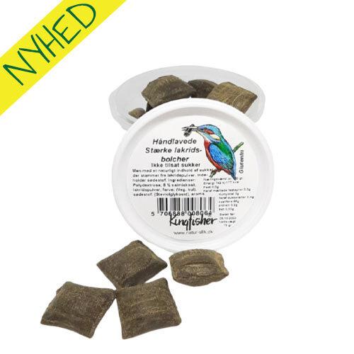 vegansk slik - sukkerfri vegansek bolcher kingfisher